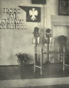 Exhibition organized in the castle interiors for the occasion of a ceremony of 1000 years of Polish State, 1966