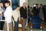 Vernissage of the exhibition of Józef Jarema's and Maria Sperling's painting, 1995