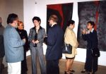 Vernissage of the exhibition of THE MEGALITH, 2002