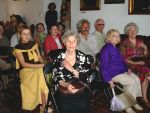 Krystyna Sieraczyńska (in the middle) during the opening of her exhibition in The Historical Museum in Sanok, 2007