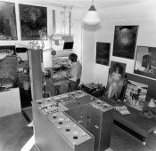 Sanok workshop of Zdzisław Beksinski, the 70s of 20th c.