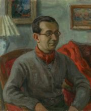 Franciszek Prochaska, Self-portrait, 30s 20th c.